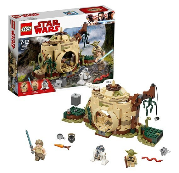 LEGO Star Wars TM Yodas Hut, 75208