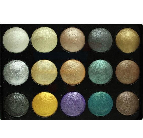 Ferrarucci Professional Smoky Eye Shadow, 15 Color
