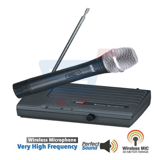 Sanford Wireless Microphone SF7511WMP BS