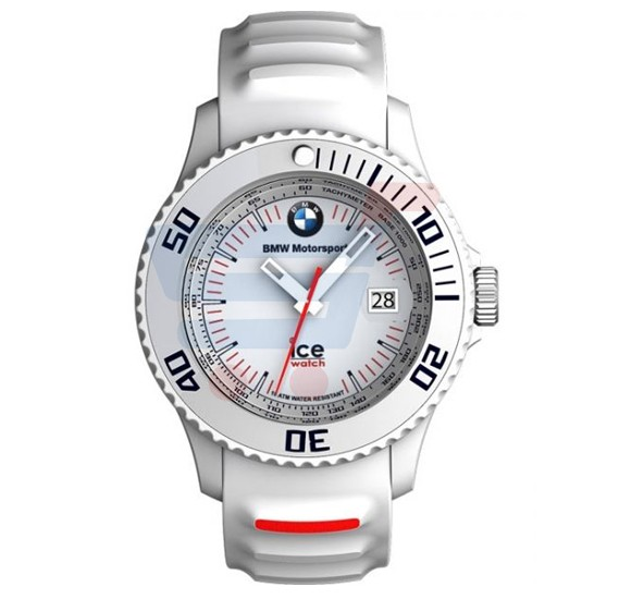 buy ice watch bmw motorsport unisex white band watch bm. Black Bedroom Furniture Sets. Home Design Ideas