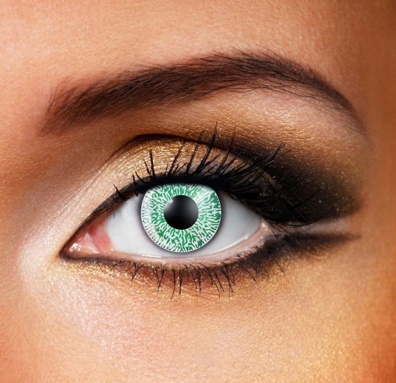 Green 1 Tone Colour Eye Contact Lenes