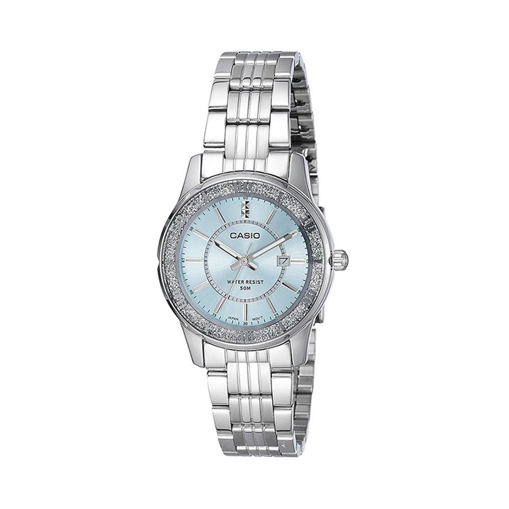 Casio Enticer Analog Blue Dial Womens Watch ,LTP-1358D-2AVDF