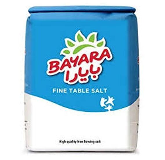 Bayara Fine Table Salt 1kg
