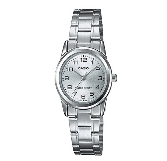 Casio Stainless Steel Watch For Women, LTP-V001D-7BUDF