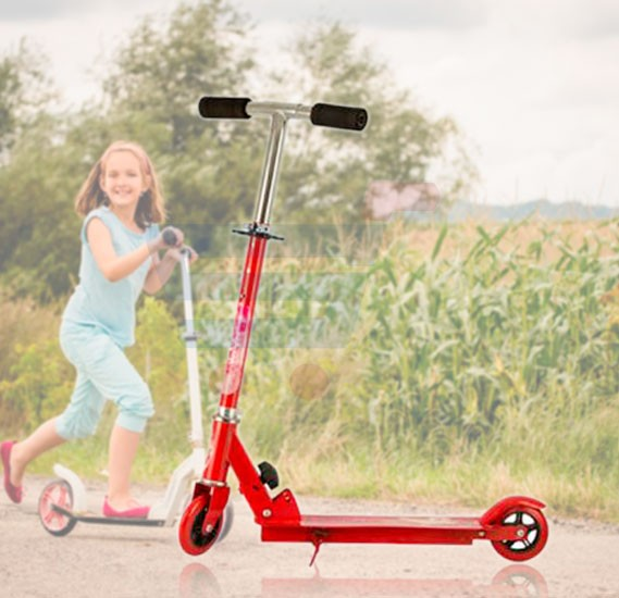 Kids Kick Scooter SC-5306-Red