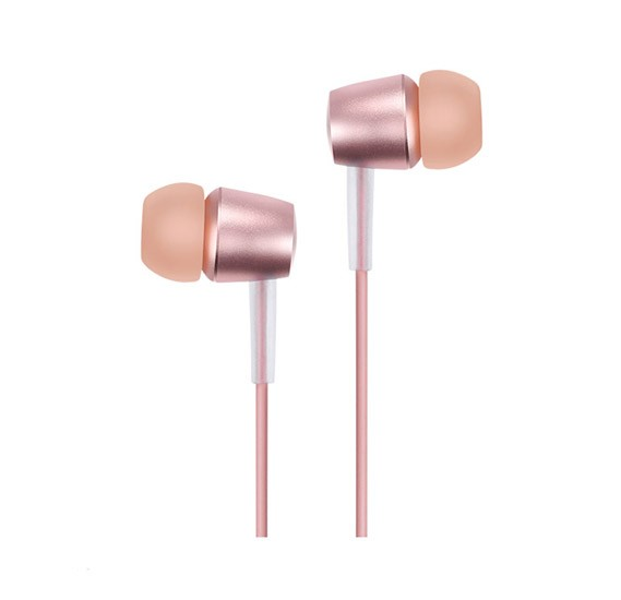 Hoco M10 Metal universal earphone with mic gold