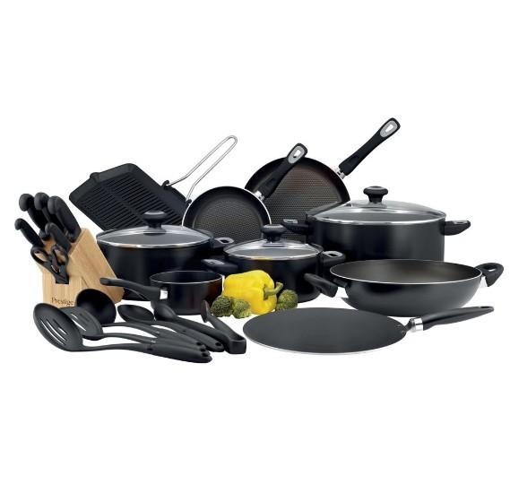 Prestige Class. Pro 24Pc Cooking Set Black - PR21638