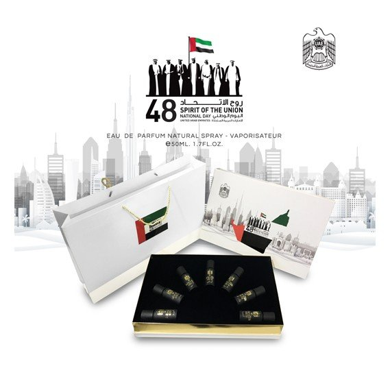 Spirit Of The Union 7 In 1 National Day Perfume Set 50 Ml