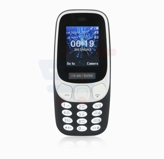 H Mobile 3310, 2G Dual Sim, 2 MP Camera, Keypad Phone, Blue