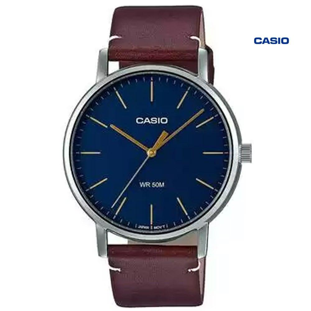 Casio MTP-E171L-2EVDF Analog Watch For Men, Brown