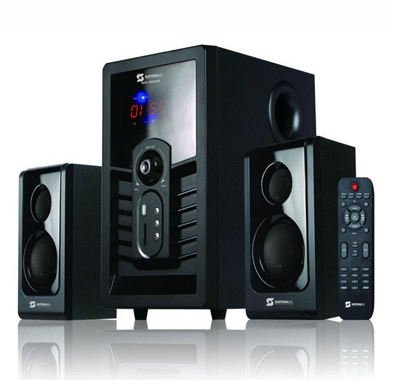 Sayona multimedia bluetooth HI-FI 2.1CH speaker, SHT-1004BT