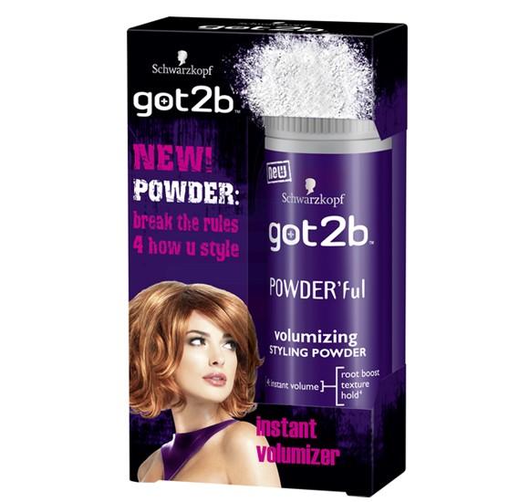 Got2B Schwarzkopf PowderFul Volumizing Styling Powder 10G