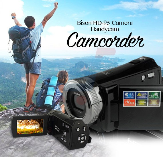 Bison HD-95 Camera Handycam Camcorder