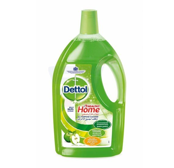 Dettol Green Apple Fragrance Healthy Home All Purpose 4 in 1 Multi Action Cleaner 900ml