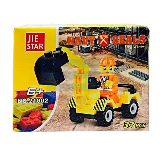 JIE Star 37pcs Car Kit For Kids-21002