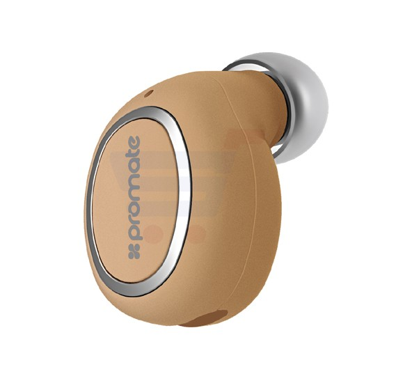 Promate Bluetooth Mono Headset Universal Wireless Smallest Bluetooth Earbud  with HD Sound Quality Multi-Point Pairing Noise Reduction and Built-In Mic