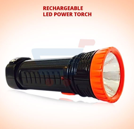 RL Rechargeable LED Power Torch, RL-6001