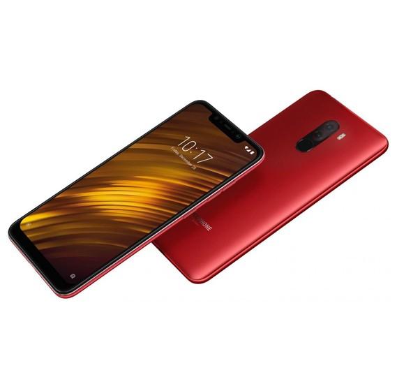 Xiaomi POCOPHONE F1 Dual SIM - 64GB, 6GB RAM, 4G LTE, Red – International Version