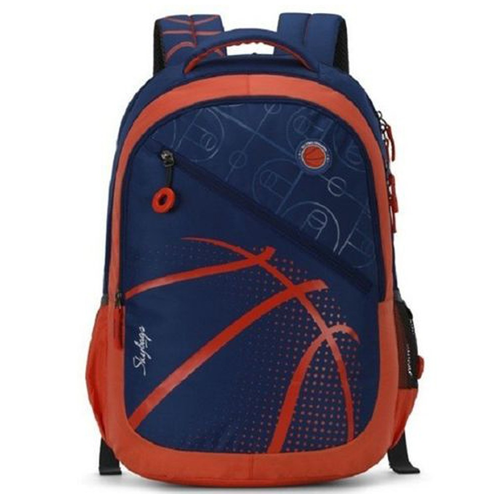 Skybags Unisex Blue Backpack, BPFIG4BLU