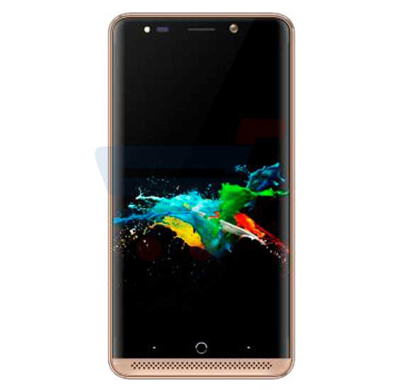 Gmango X2 Smartphone, 4G, 5.0 inch HD Display, Android OS, 2GB RAM, 16GB Storage, Dual SIM, Dual Camera, Quad Core 1.5GHz Processor- Gold