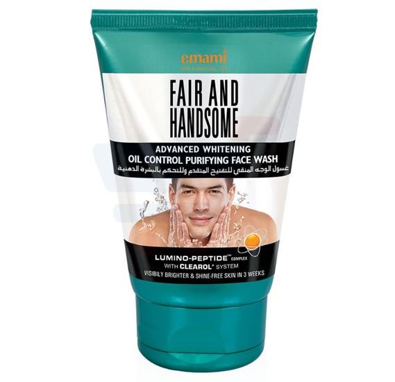Emami Fair&Handsome Oil Control Facewash 100gm - 6787