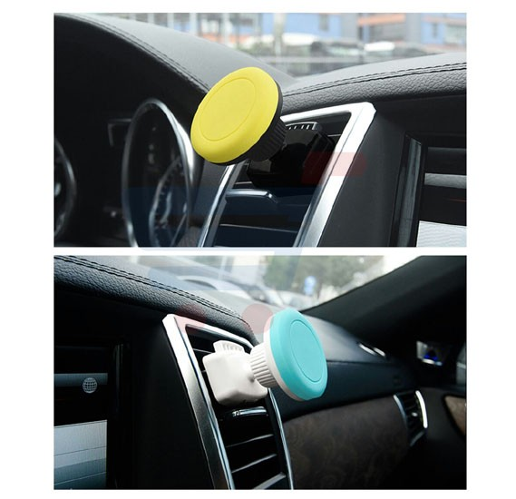 Universal Multi-Color 360 Degree Rotation Magnetic Car Air Vent Mount Mobile Holder