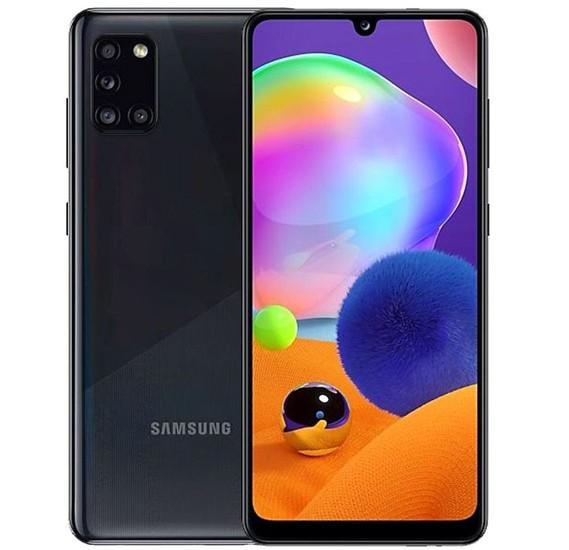 Samsung Galaxy A31 Dual SIM 4GB RAM 128GB 4G LTE- Prism Crush Black