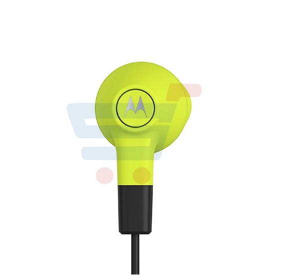 Motorola Moto Earbuds Lemon Lime