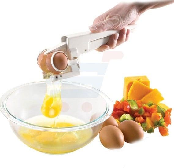 EZ Egg cracker and separator