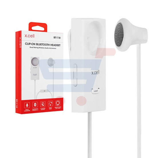 X-Cell Bluetooth Clip On Headset