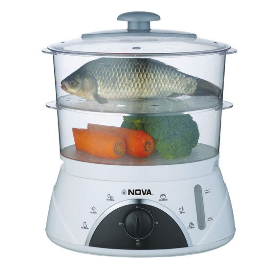 Nova Food Steamer NFS-9007-2, 2-layers