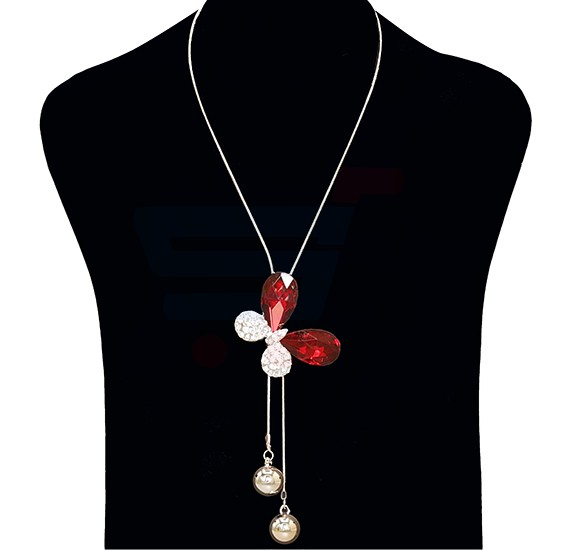Fashion Jewelry Butterfly Necklace NO.FJ-403