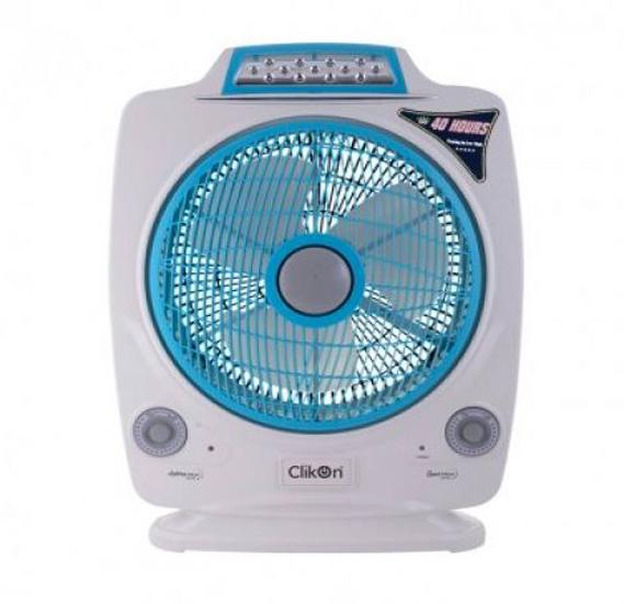Clikon Rechargeable Multifunctional Fan - CK2195