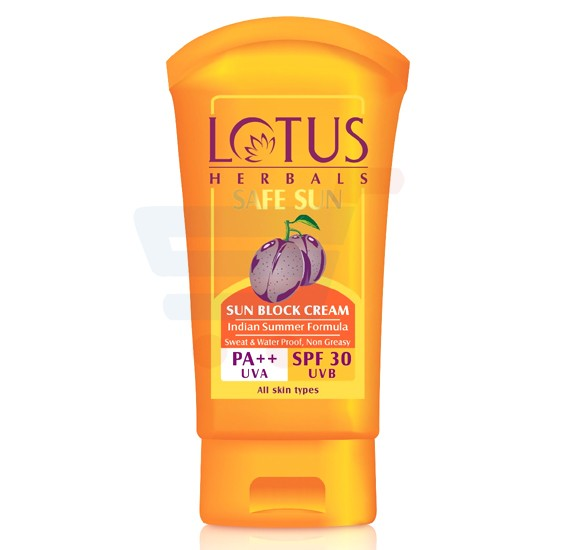 Lotus Safesun Sun Block Cream Spf-30 100g