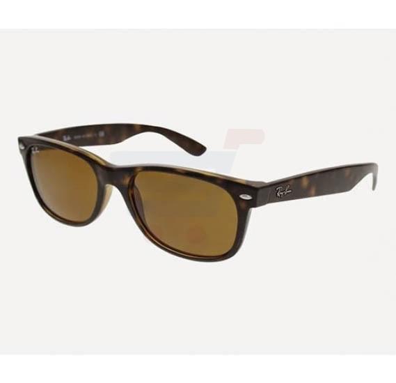 Ray-Ban Wayfarer Havana Frame & Brown Mirrored Sunglasses For Women - RB2132-710-55