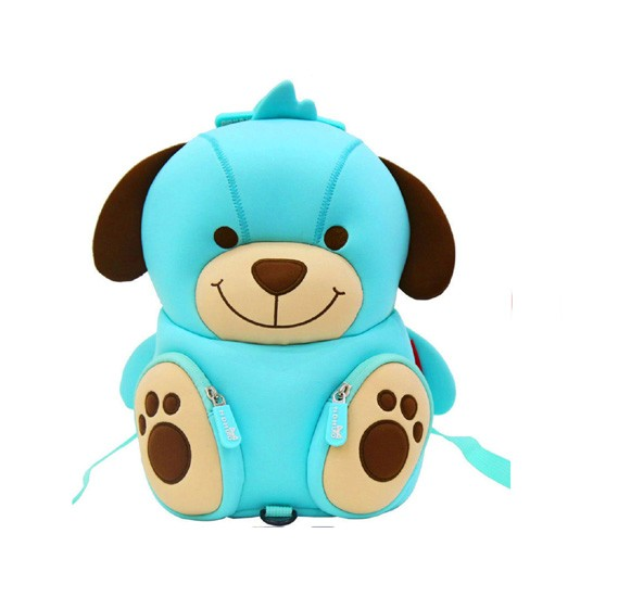 Nohoo Jungle Kindergarden Bag-Dog NH_NHB079_DG Blue (28*19*9)