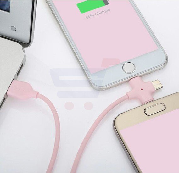 X10 Starfish 3 In 1 multicolour Charging Cable