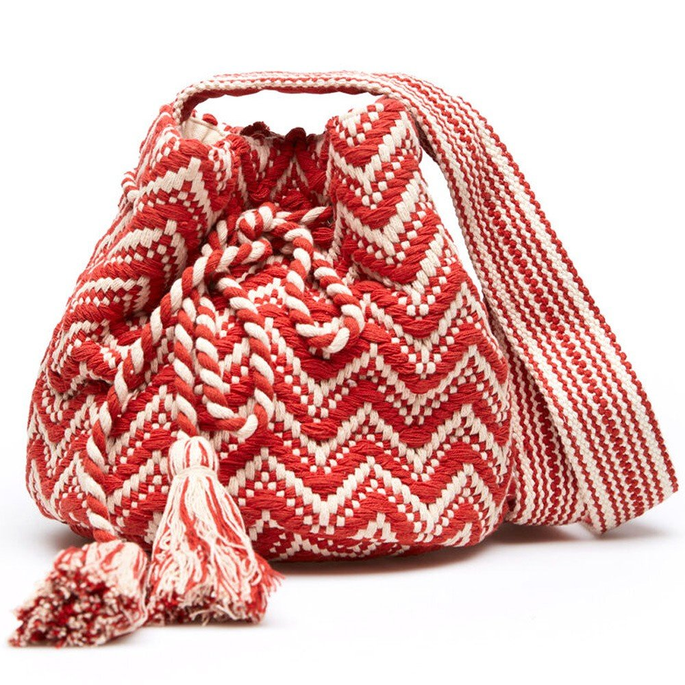 Springfield Fashion Womens Bag, Dual Tone, Red&White