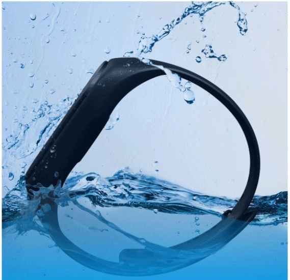 Bluedigit Smart Band Blue IBRACE 07