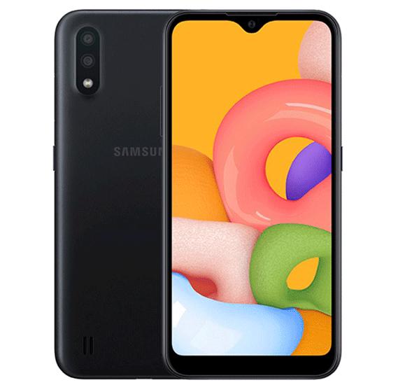 Samsung Galaxy A01 Dual SIM 2GB RAM 16GB 4G LTE-Black