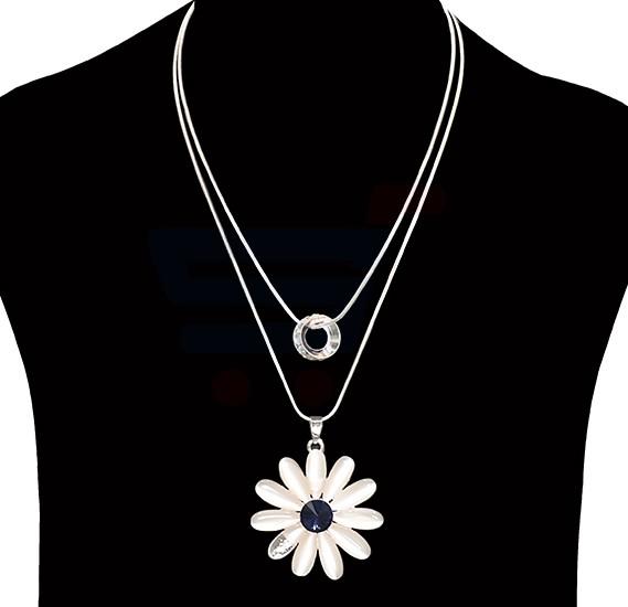 Hongyu  Fashion Jewelry sunflower Necklace NO.FJ-408