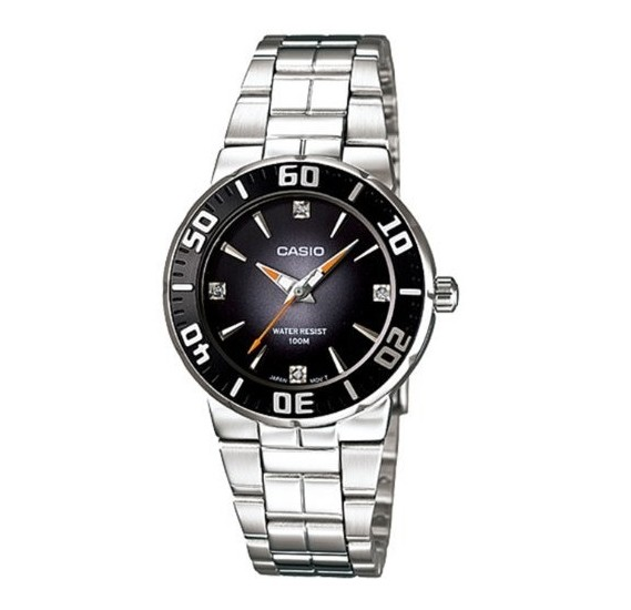 Casio LTD-2000D-1AVDF Quartz Diver Look Series Women Watch