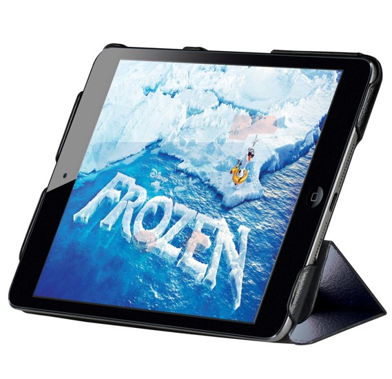 Promate Blend ultra-slim premium leather combination cases created to protect your iPad mini Black - Blend