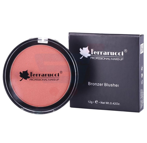 Ferrarucci Orange Bronzer Blusher, 12g