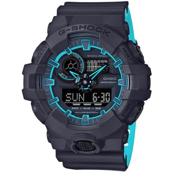 Casio G-Shock Digital Analog Watch - GA-700SE-1A2DR