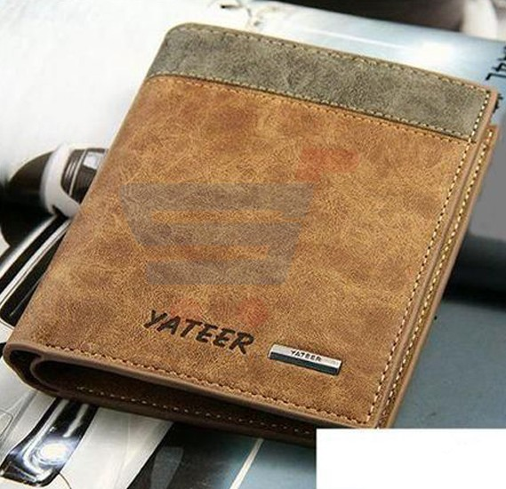 Yateer Multi-Card Men Wallet Genuine Leather
