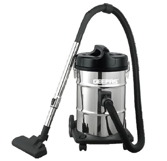 Geepas Drum GVC2597  Vacuum Cleaner 23 l 2300 W Silver