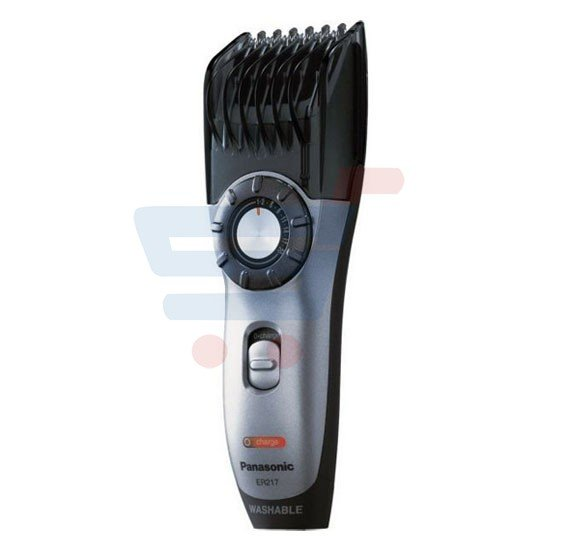 buy panasonic er217 hair and beard trimmer silver online dubai uae 6494. Black Bedroom Furniture Sets. Home Design Ideas