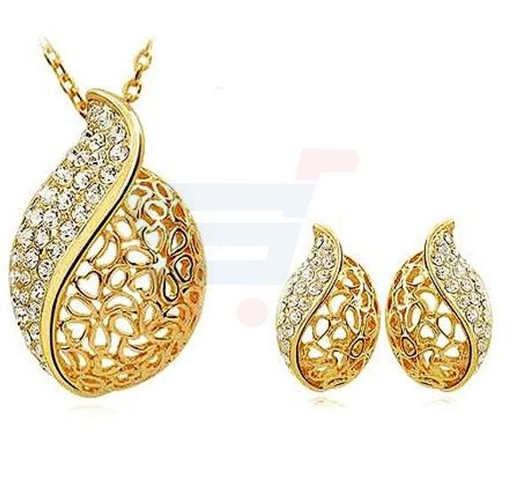97faad58eb Buy 18 KT Gold Plated Jewellery Set Online Dubai, UAE | OurShopee.com 19157