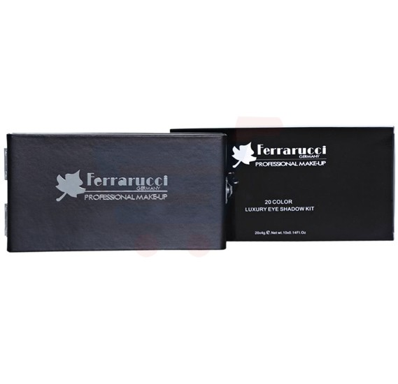 Ferrarucci 10 Color Eye Shadow 25g, 01